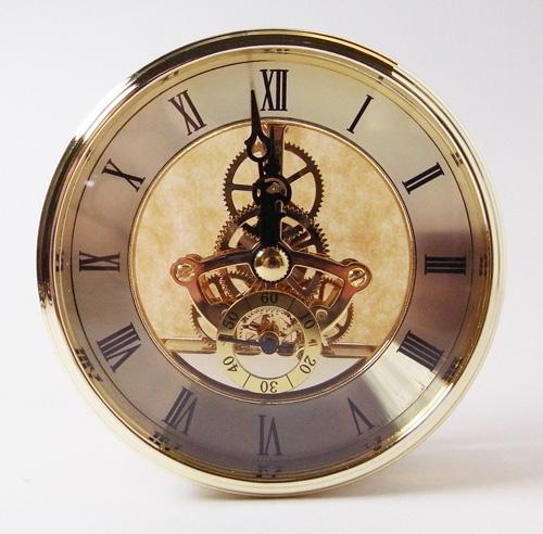 นาฬิกาฝังชิ้นงาน เครื่อง ทองเหลืองแท้ SKM3085