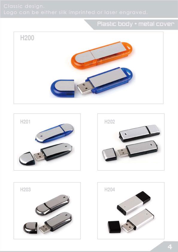 พลาสติก ผสม โลหะ usb flash drive