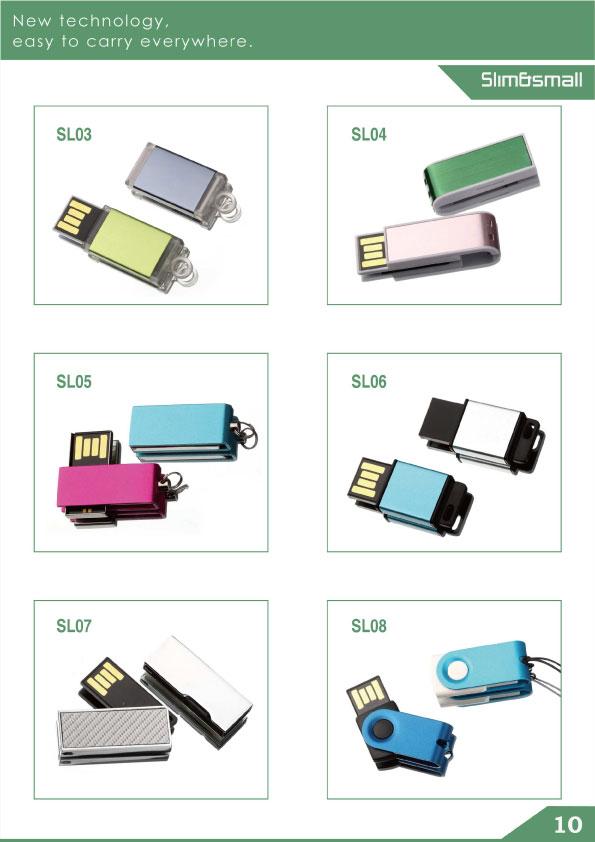 ขนาดเล็กและบางเป็นพิเศษ usb flash drive