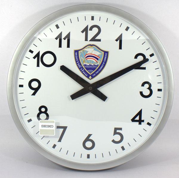 นาฬิกาแขวนผนัง และตั้งโต๊ะ SEIKO และ Rhythm จากญี่ปุ่น พร้อม logo ของท่าน