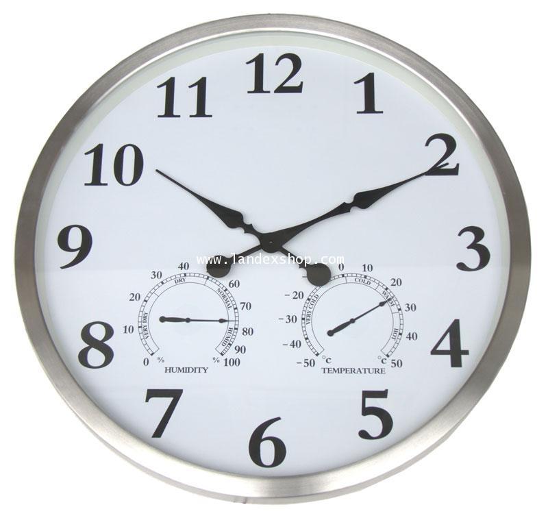 นาฬิกาแขวน รุ่น AL80 3 in 1  ขนาด 80 cm. ขอบ Aluminum