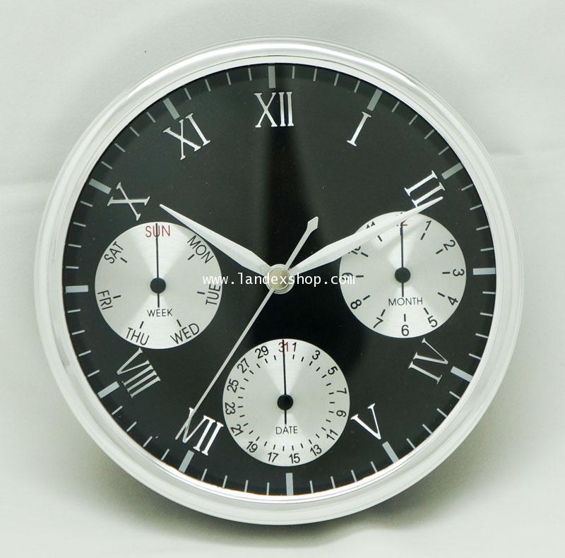 YT150M1-S  นาฬิกา ขนาด 15 ซม. หร้อม หน้าจอวันที่ทำงาน อัตโนมัติ