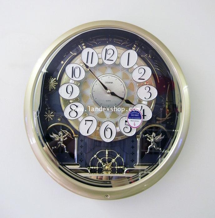 นาฬิกา หน้าปัด เคลื่อนไหวได้ OSAWA 6236