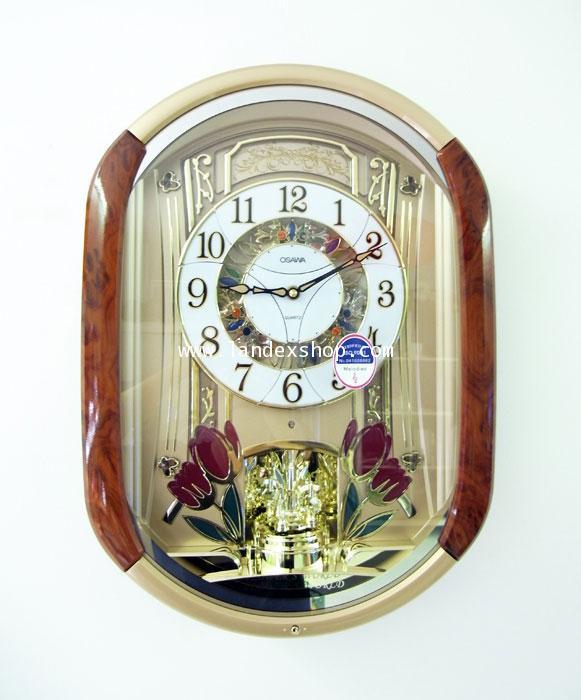 นาฬิกา หน้าปัด เคลื่อนไหวได้ OSAWA 6237