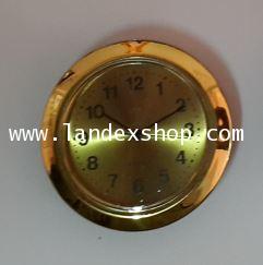 นาฬิกาฝังชิ้นงาน หัวข้อมือ 3R01 หน้าปัด ทอง เลข อารบิก