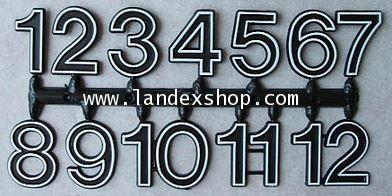 Large Arabic Plastic number
