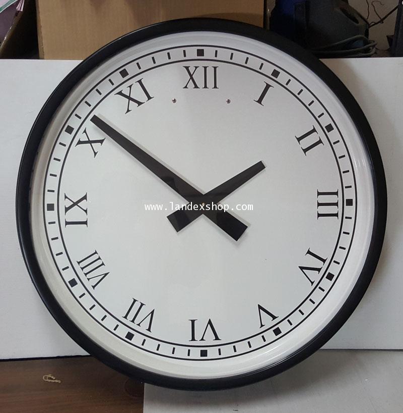 นาฬิกาแขวน ขอบ fibergrass  รุ่น F-70 ขนาด 70 cm.