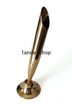 ถ้วยเสียบปากกาทองเหลือง  ชุบทอง