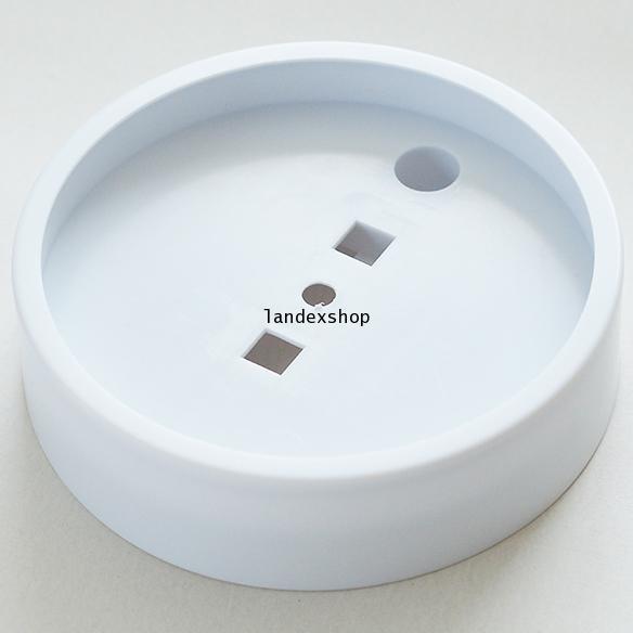 ตัวเรือนเปล่าทรงกลม - Wall Clock Body ขนาด 6.6 นิ้ว  สีขาว