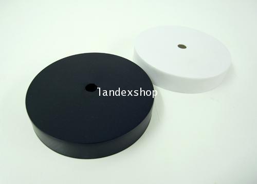 ฝาพลาสติกครอบเครื่องนาฬิกา  ยี่ห้อ : iamclock สีขาว