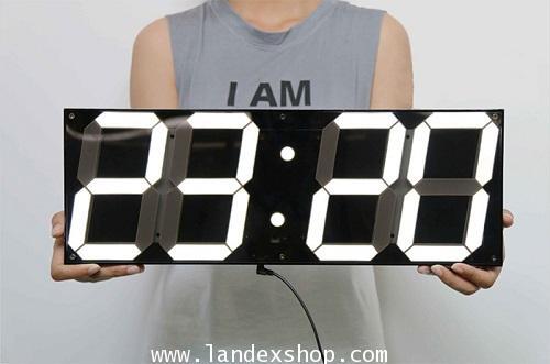 5.9 inch Jumbo Digital Led Wall Clock รุ่น AL-LED 5.9