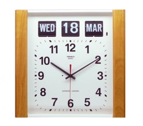 นาฬิกาพร้อมกับปฎิทินแบบแผ่นพับ BQ-15 (Flip clock)