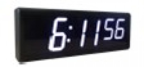 Global Time Wifi NTP slave clock GTD369-6SW3 (White)