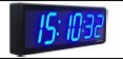 Global Time Wifi NTP slave clock GTD369-6SB4 (Blue)