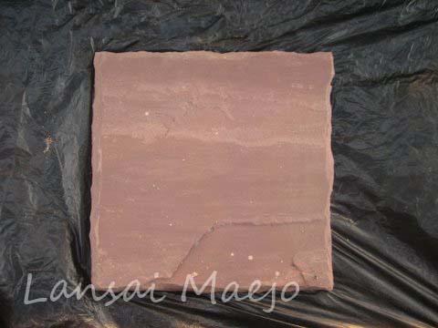 หินทรายแต่งขอบแดง40*40