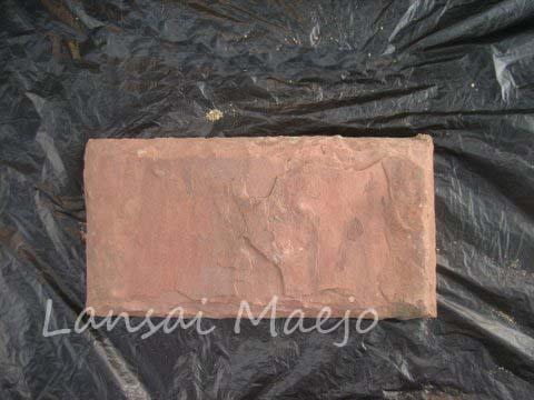 หินทรายแต่งขอบแดง20*40