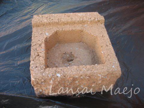 บล็อกกระถางcastle stone