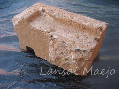 บล็อกผนังเข้ามุมซ้ายcastle stone