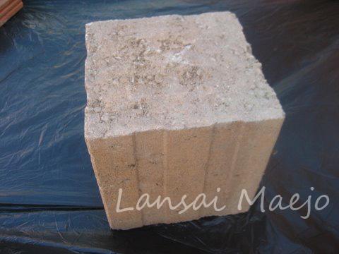 บล็อกหัวเสาCastle Stone