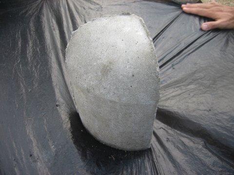 ก้อนปิดมุมขอบคันหินเล็ก เบอร์ 1