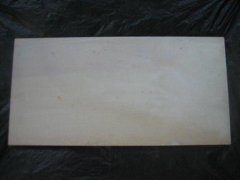 หินทรายตัดขอบขัดเรียบ 30 x 60 สีขาว