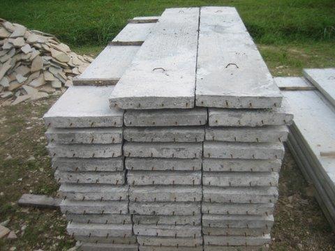 แผ่นพื้นคอนกรีตอัดแรง ขนาด 0.35 x 0.05 ยาว 2.50 เมตร