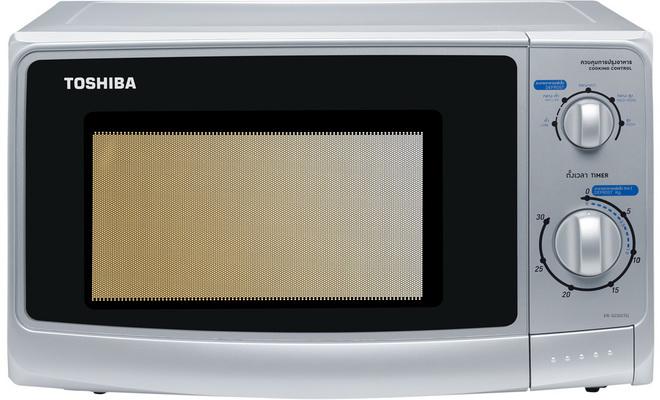 ไมโครเวฟ Toshiba ER-G23SC - (S) สีเงิน,(W) สีขาว