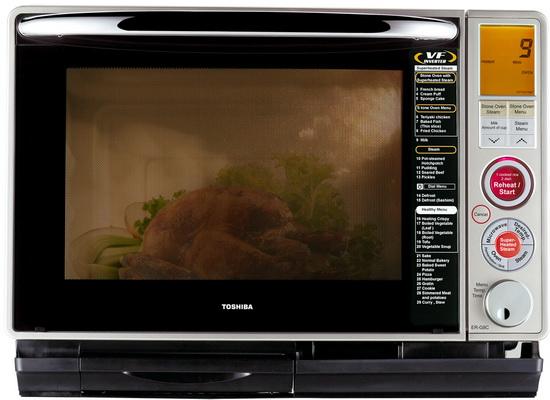 ไมโครเวฟ Toshiba ER-G8C (S) สีเงินเมทาลิค