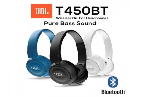JBL T450BT On-ear Wireless Bluetooth