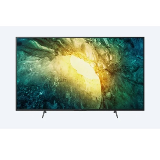 SONY 55 นิ้ว  รุ่น KD-55X7500H X75H 4K ULTRA HD HIGH DYNAMIC RANGE (HDR) สมาร์ททีวี (ANDROID TV)