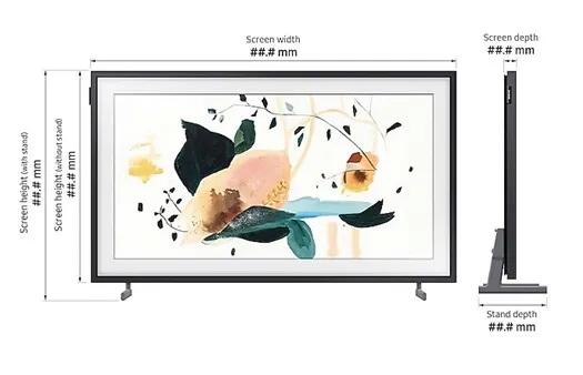 SAMSUNG 32 นิ้ว รุ่น QA32LS03TBKXXT LS03T The Frame Smart TV (2020)