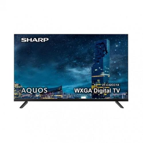 SHARP 32 นิ้ว รุ่น 2T-C32CC1X DIGITAL LED HD TV ประกันศูนย์ 1 ปี
