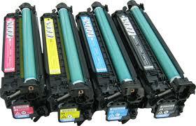 หมึกเทียบเท่า HP CP3525/CM3530、  LBP7750(CRG-323/723)/LBP5460(GPR29)