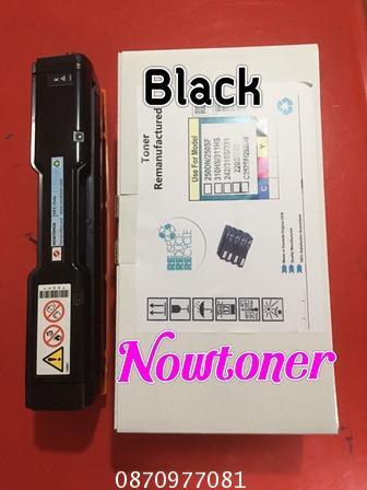 หมึกเทียบเท่าริโก้ RICOH สีดำ BK สำหรับ PC300W MC250FWB