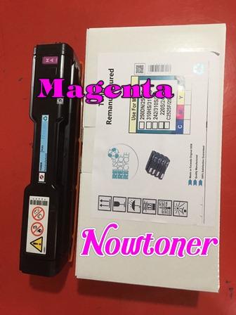 หมึกเทียบเท่าริโก้ RICOH สีชมพู สีแดง Magenta สำหรับ PC300W MC250FWB