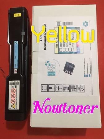 หมึกเทียบเท่าริโก้ RICOH สีเหลือง YELLOW สำหรับ  PC300W MC250FWB