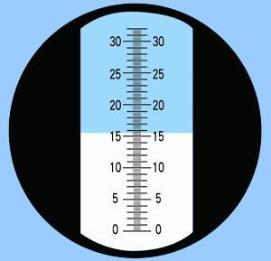 เครื่องวัดความหวาน เครื่องวัดน้ำตาล 0-32 Brix with ATC+คู่มือภาษาไทย 1