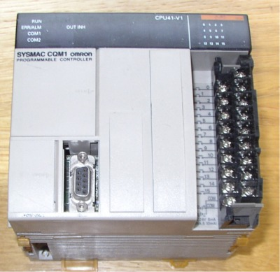 CQM1-CPU41 OMRON FULLY TESTED 6 months warranty on used units