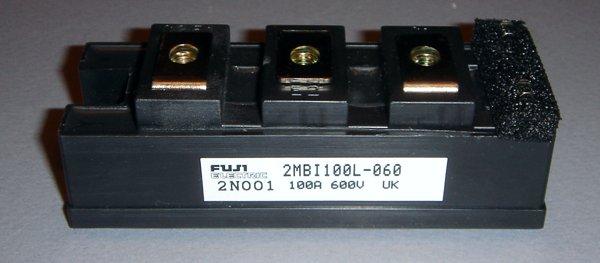 FUJI 2MBI100L-060 MODULE TRANS IGBT MODULE N-CH 600V 100A 7M218