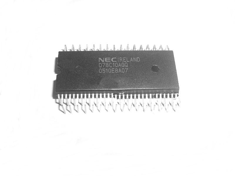 NEC DP D78C10AGQ 8-BIT SINGLE-CHIP MICROCOMPUTER WITH A/D CONVERTER