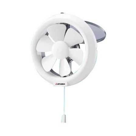 MITSUBISHI V 15 SL พัดลมระบายอากาศติดกระจกเปิดหลัง 6 นิ้ว ราคา 715 บาท