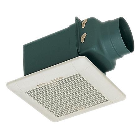 MITSUBISHI VD 10 Z4T3-C พัดลมระบายอากาศแบบต่อท่อฝังเพดาน ลมธรรมดา หน้ากากลายตรง 4 นิ้ว ราคา 2,145 บา