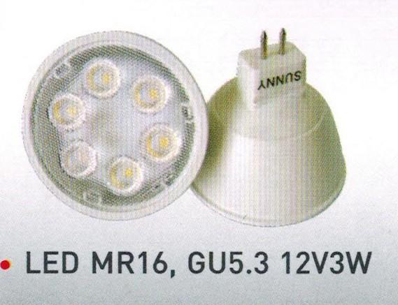 SUNNY MR16+C LED 12V-3W ������������ 200.-���������