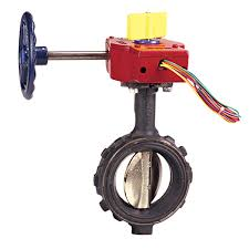 NIBCO  2 Butterfly Valve WD3510-4 250psi UL/FM Wafer Type with Supervisory switch  ราคา 6195.- บาท