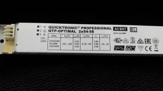 OSRAM QTP-OPTIMAL 2x54-58 500 บาท