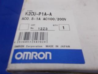 Omron K2CU-P1A-A 100-200V 0.5-1A 2500 บาท