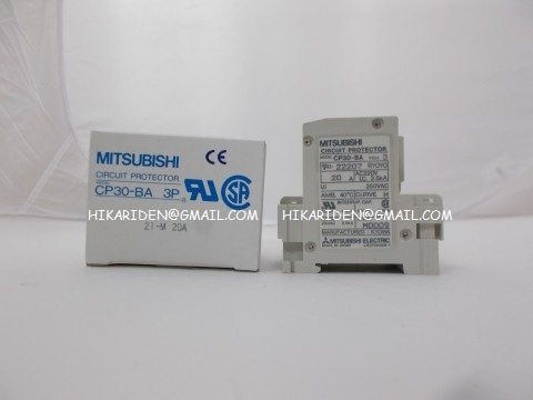 CP30-BA 3P 21-M 20A A MITSUBISHI ราคา 1,200 บาท