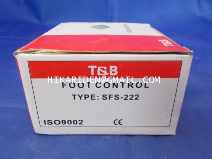 FOOT CONTROL TYPE : SFS-222 ราคา 500 บาท