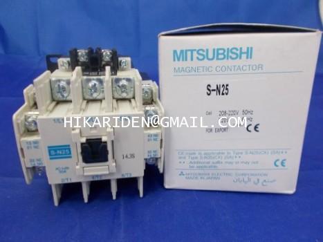 MITSUBISHI S-N25 220VAC ราคา 1,000 บาท