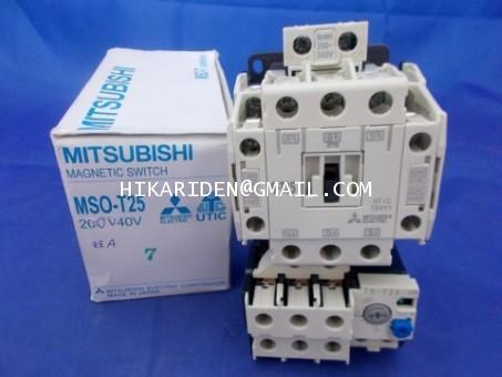 MITSUBISHI MSO-T25 220VAC 22A ราคา 1,161 บาท